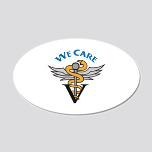 VETERINARIAN WE CARE Wall Decal