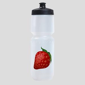 Strawberry Sports Bottle