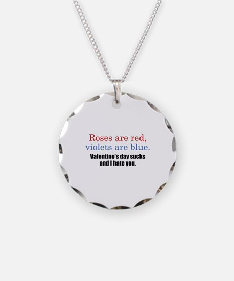 Roses Are Red Necklace