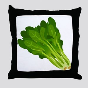 Spinach Throw Pillow