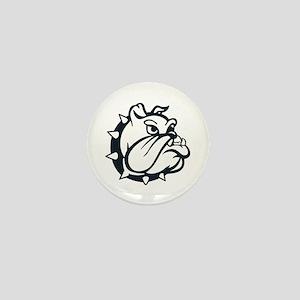 ONE COLOR BULLDOG Mini Button