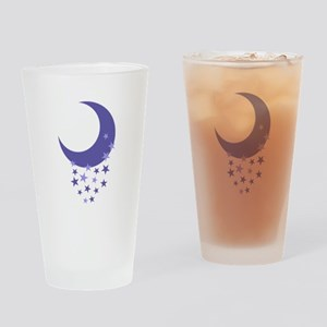MOON AND STARS Drinking Glass