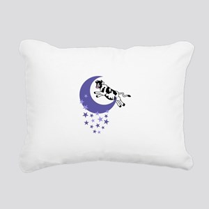 COW JUMPED OVER THE MOON Rectangular Canvas Pillow