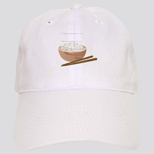 White Rice Baseball Cap