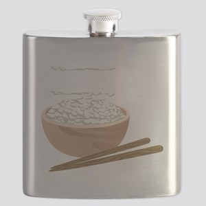 White Rice Flask