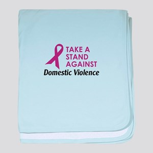 TAKE A STAND baby blanket