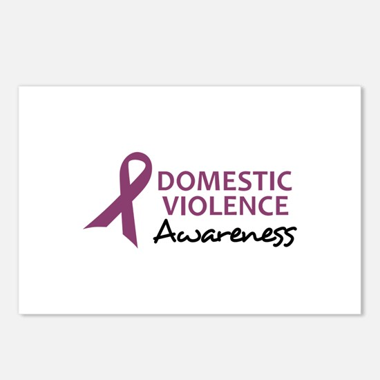 DOMESTIC VIOLENCE AWARENESS Postcards (Package of