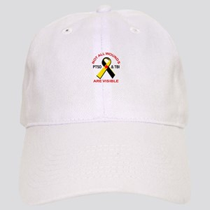 NOT ALL WOUNDS ARE VISIBLE Baseball Cap