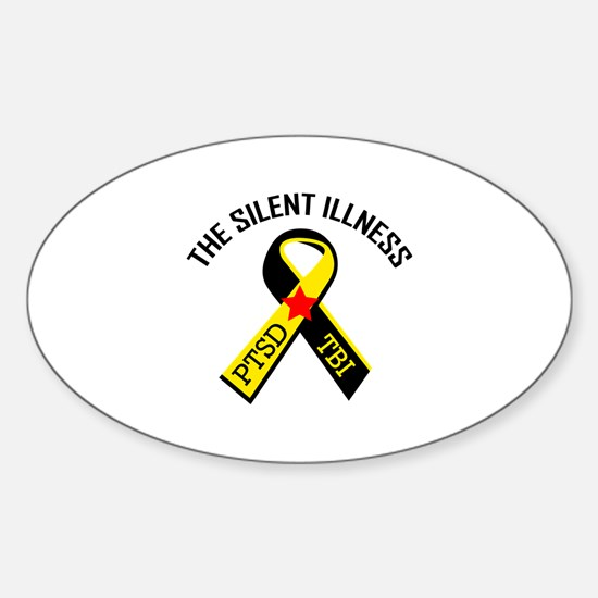 THE SILENT ILLNESS Decal
