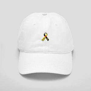 MILITARY PTSD AND TBI RIBBON Baseball Cap