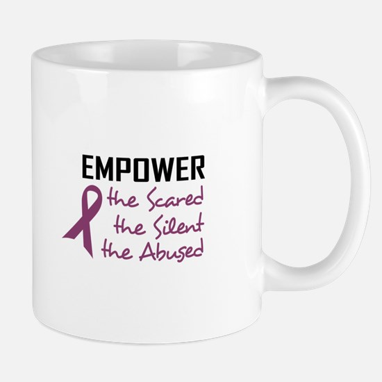 EMPOWER THE ABUSED Mugs