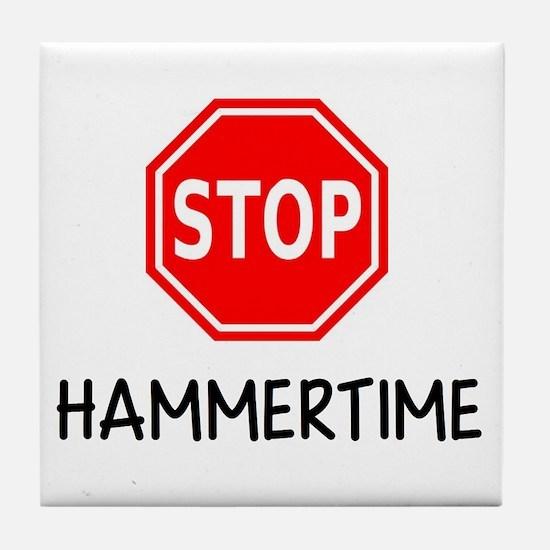 Hammertime Tile Coaster