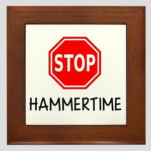 Hammertime Framed Tile