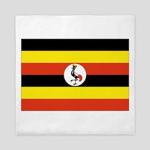 Uganda flag Queen Duvet