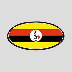 Uganda flag Patches