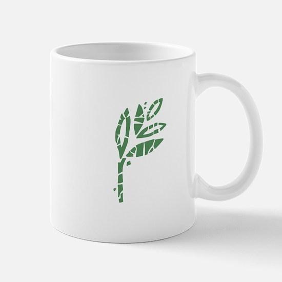 Batik Leaves Mugs