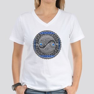 Pisces Women's V-Neck T-Shirt