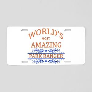 Park Ranger Aluminum License Plate