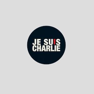 Je Suis Charlie Reverse Mini Button