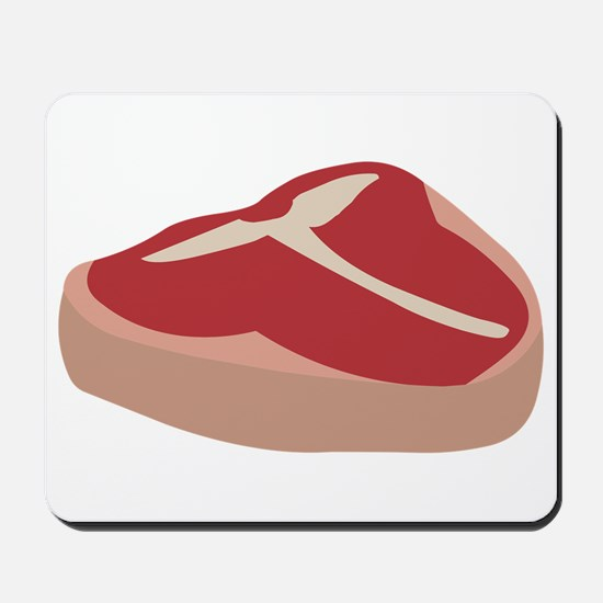 T Bone Steak Mousepad