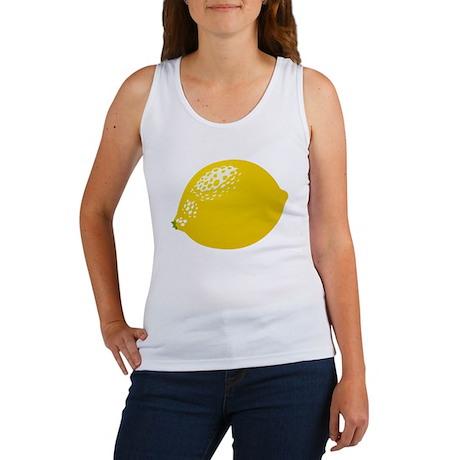 421d1d60514068 Lemon Women s Tank Top Lemon Tank Top