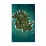 Lost Map 20x12 Wall Decal