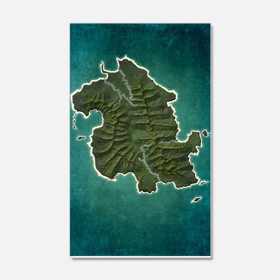 Lost Map Wall Decal