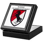 11TH ARMORED CAVALRY REGIMENT Keepsake Box