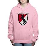 11TH ARMORED CAVALRY REG Women's Hooded Sweatshirt