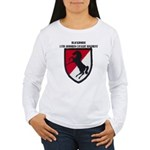 11TH ARMORED CAVALRY R Women's Long Sleeve T-Shirt