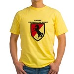 11TH ARMORED CAVALRY REGIMENT Yellow T-Shirt