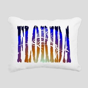 Florida Sailfish Rectangular Canvas Pillow