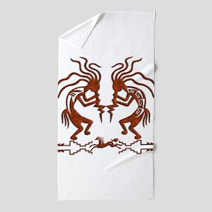 Kokopellie dream Beach Towel