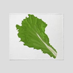 Lettuce Leaf Throw Blanket