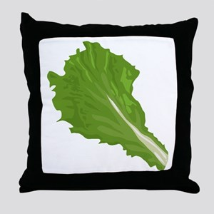 Lettuce Leaf Throw Pillow