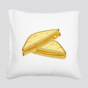 Grilled Cheese Square Canvas Pillow