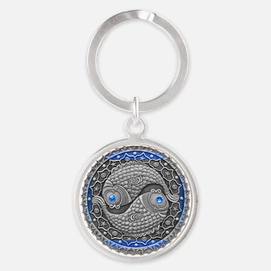 Pisces Keychains