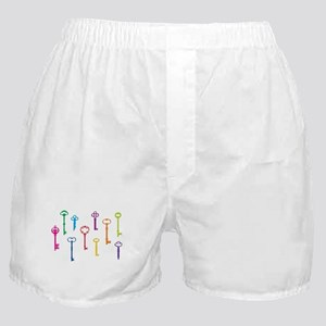 Skeleton Keys Boxer Shorts