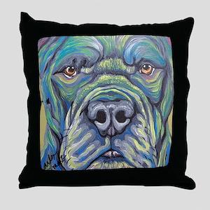 Cane Corso Rainbow Dog Throw Pillow