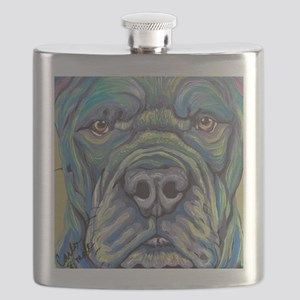 Cane Corso Rainbow Dog Flask