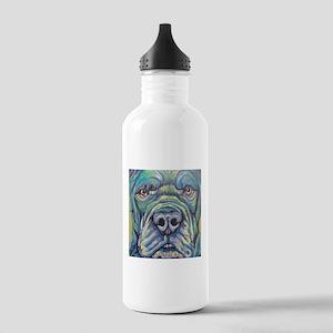 Cane Corso Rainbow Dog Water Bottle