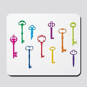 Skeleton Keys Mousepad