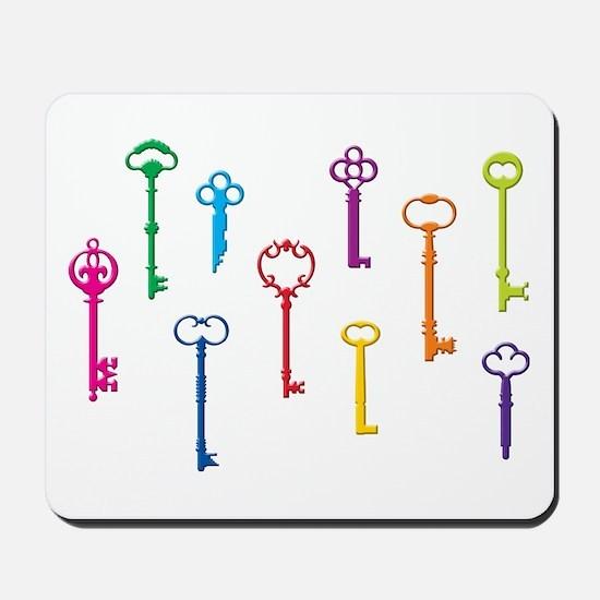 Skeleton Keys Mousepad
