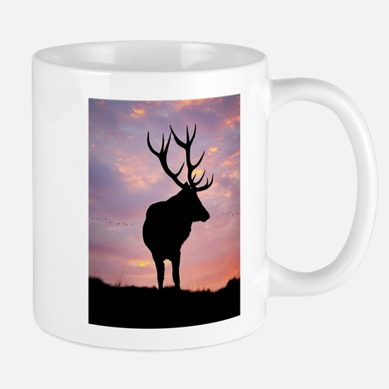 Stag And Sunset Mugs