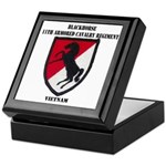 11TH ARMORED CAVALRY REGIMENT Keepsake Box
