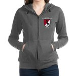 11TH ARMORED CAVALRY REGIMENT Women's Zip Hoodie