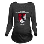 11TH ARMORED CAVALRY Long Sleeve Maternity T-Shirt