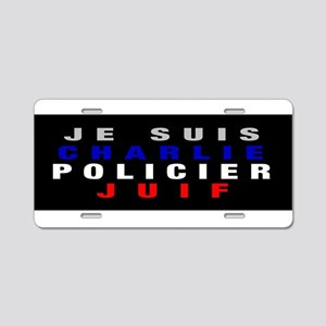 Je Suis French! Aluminum License Plate