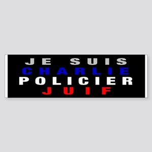 Je Suis French! Sticker (Bumper)