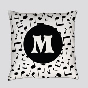 Music Monogram Personalized Master Pillow
